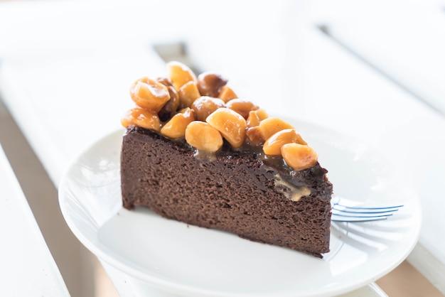 Шоколадный торт из макадамии