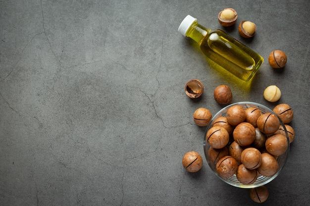 Olio di macadamia per un trattamento rilassante