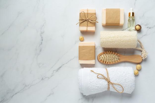 Macadamia soap skin care treatment