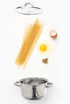 Macaroni pasta with tomato sauce close up