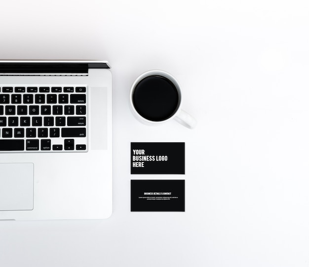 Макинтош визитной карточки macbook