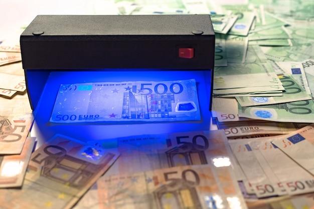 지폐 인증 테스트 기계