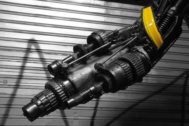 Machine gun, machinery part