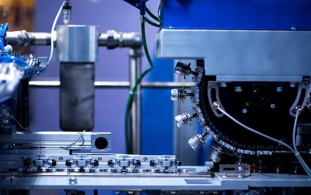 Machine part of plastic bottle production