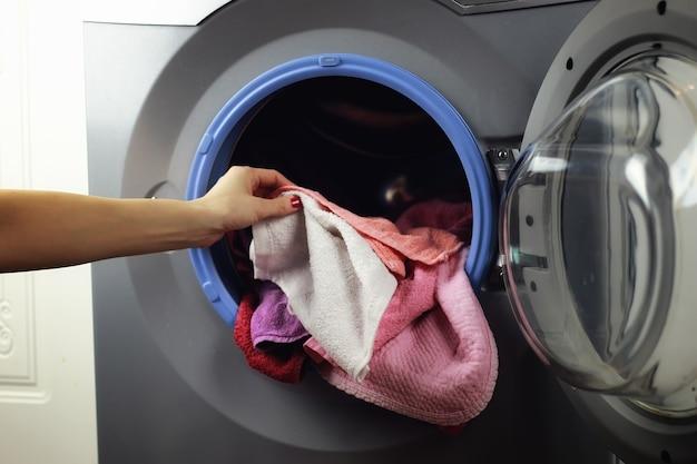 洗濯機ハンドプット