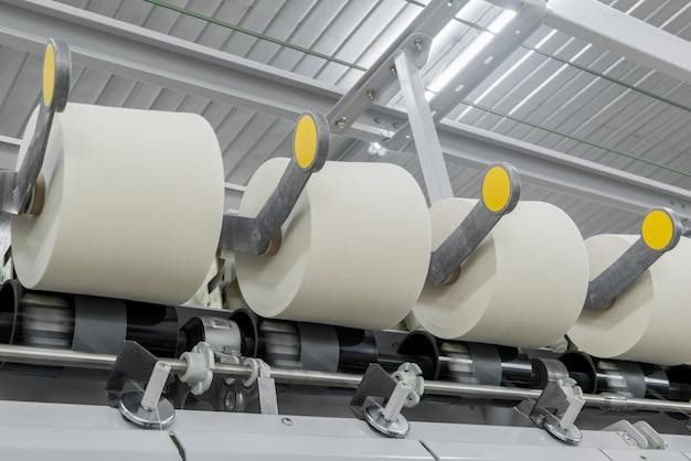 糸の生産のためのワークショップの機械と設備工業用繊維工場