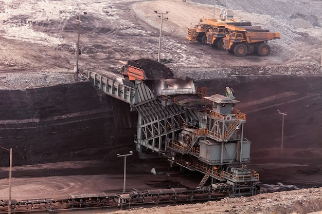 機械、鉱業