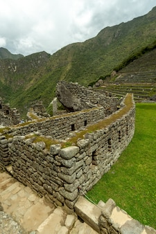 2014年10月10日、ペルーのインカの失われた都市として知られるマチュピチュ。