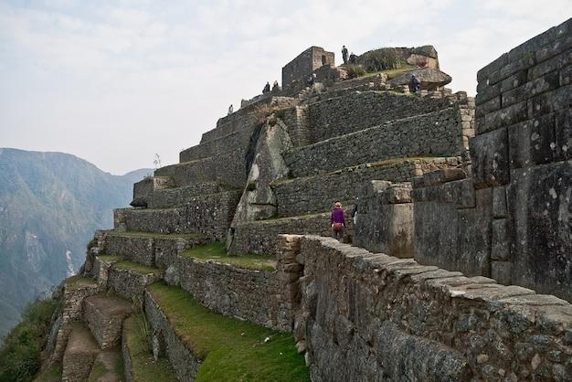Machu picchu peru monument wander