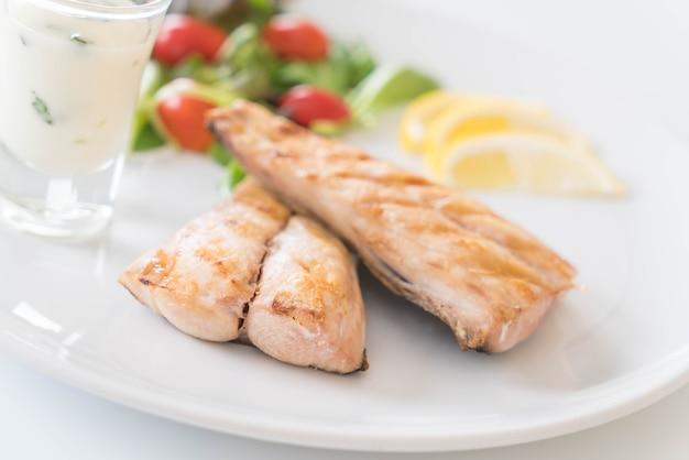Mackerel fish steak