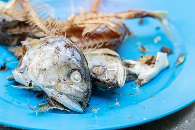 Mackerel on the plate