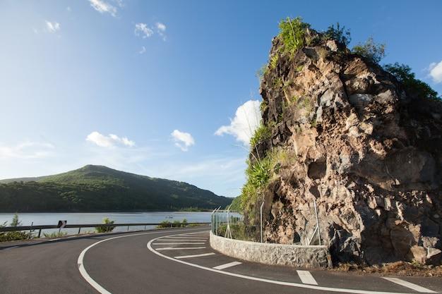 Смотровая площадка maconde. остров маврикий. панорама