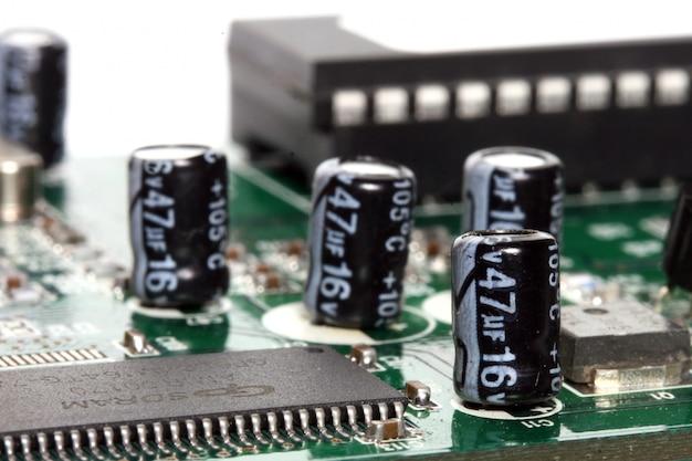 Macro of capacitors