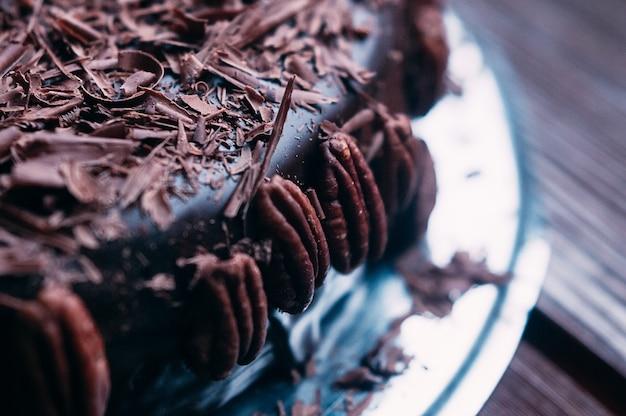 ナッツとgl薬とマクロチョコレートケーキ