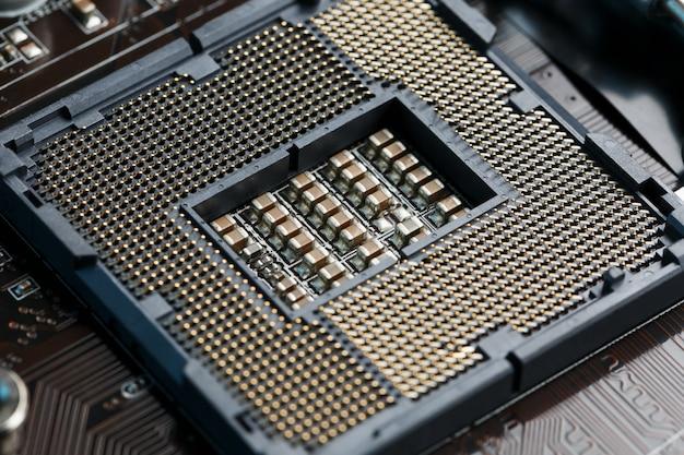 Macro cpu socket.cpu socket