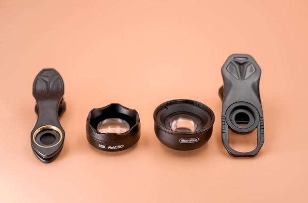 스마트폰용 매크로 렌즈 및 범용 클립