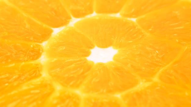 Macro trama arancione