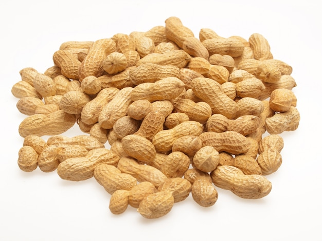 Macro peanuts