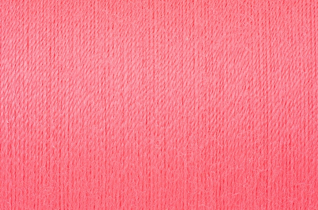 Macro picture of soft pink thread texture background