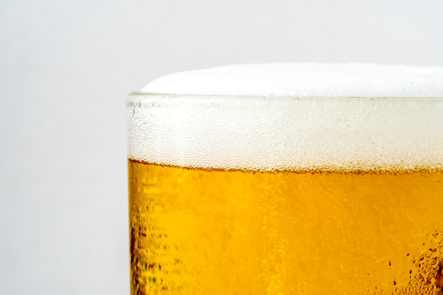 ビールのマクロ撮影