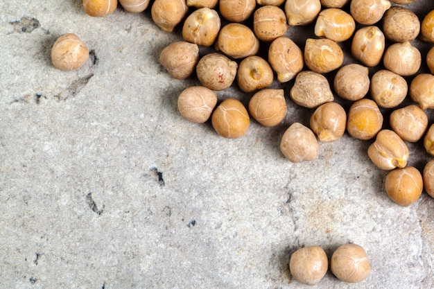 Macro shot of soybeans