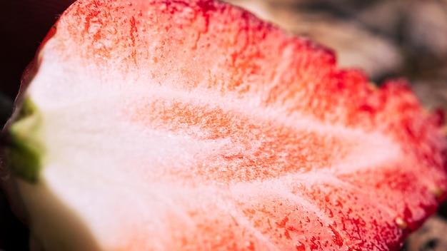 Макрос клубничная текстура