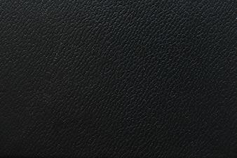 Macro texture fragment black leather wallpaper