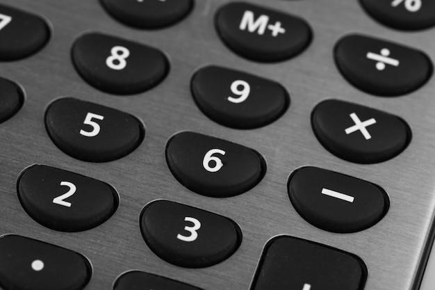 Макро вид платы калькулятора