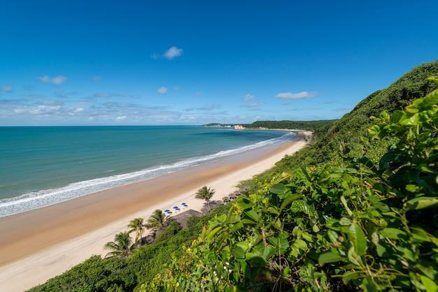 マデイロビーチチバウドスルピパビーチとナタールリオグランデドノルテブラジルの近く
