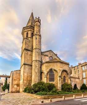 Madeleine church of beziers in france