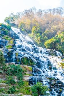 Mae ya waterfall in chiang mai, thailand