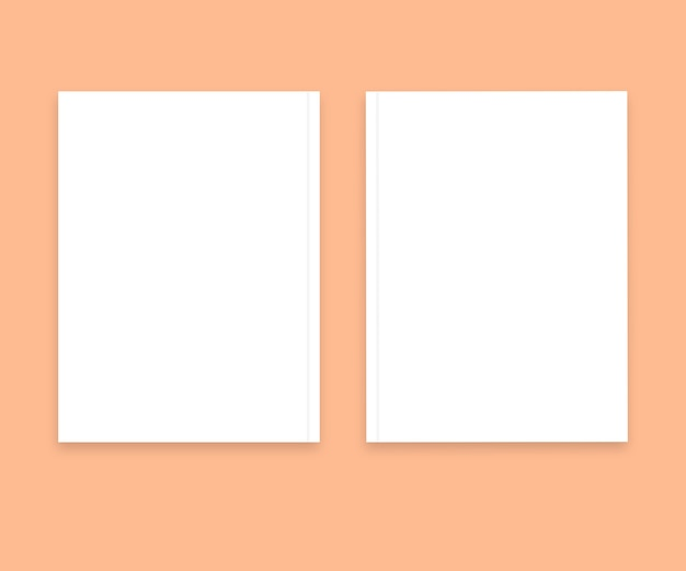Magazine blank paper with soft background