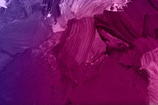 마젠타 오일 페인트 붓 무늬 배경