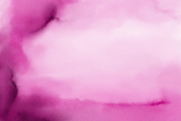 マゼンタの水彩背景、デジタルペーパー、ピンクの水彩テクスチャ