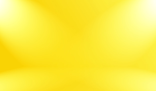 Magic abstract soft colors of shining yellow gradient background.