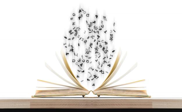 Magic books and characters