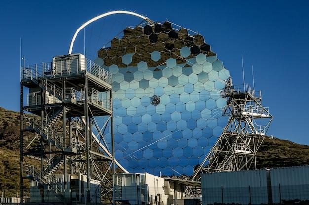 카나리아 제도 라 팔마의 roque de los muchachos에있는 magic 망원경