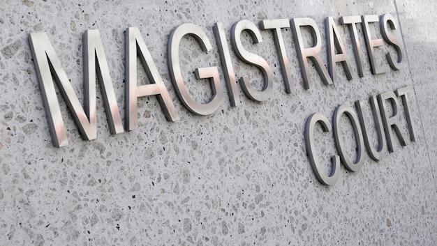 Segno magistrates court
