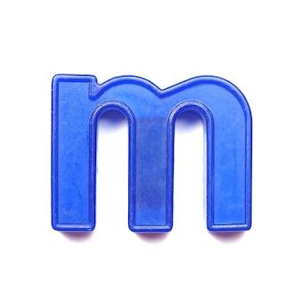 마그네틱 소문자 m