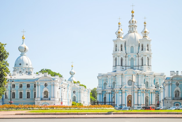 Magnificent church in st. petersburg