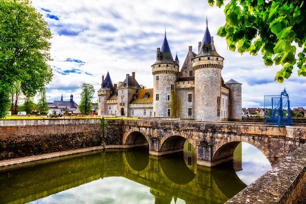 Великолепные средневековые замки франции - сюлли-сюр-луар