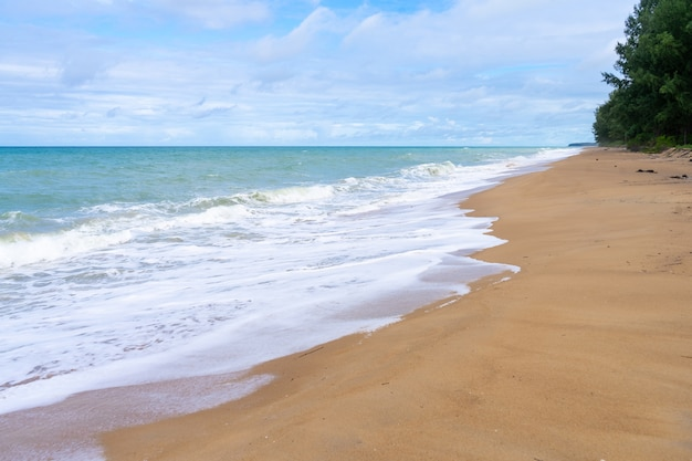 プーケットのマイカオビーチは清潔で静かです