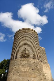 バクー旧市街にあるアゼルバイジャンの国章
