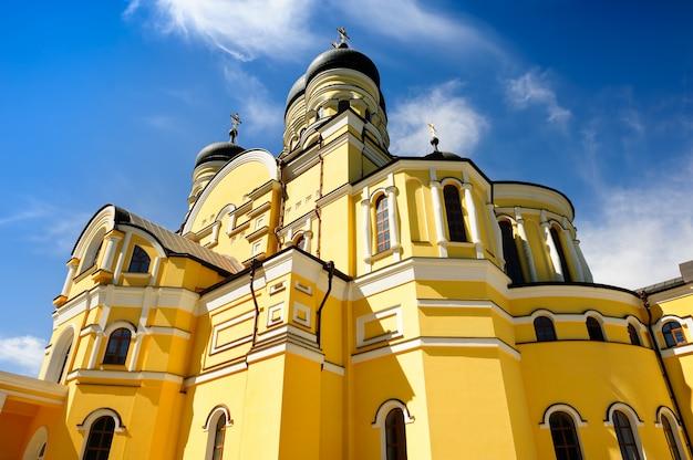 Main church of the hancu monastery, republic moldova