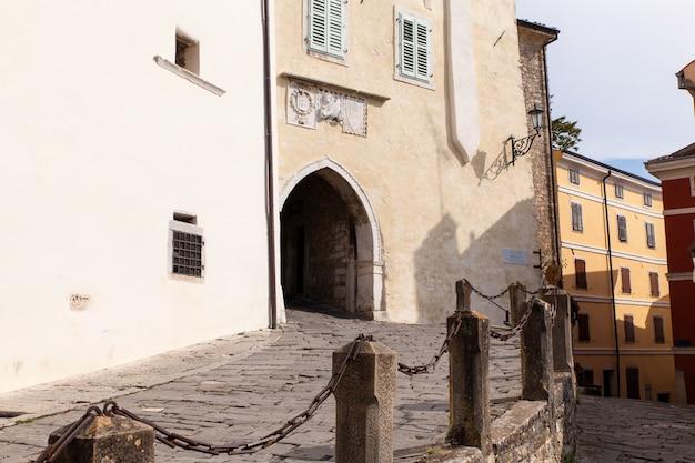The main town gate, motovun