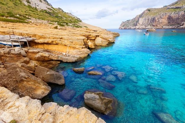 Majorca cala figuera beach of formentor mallorca