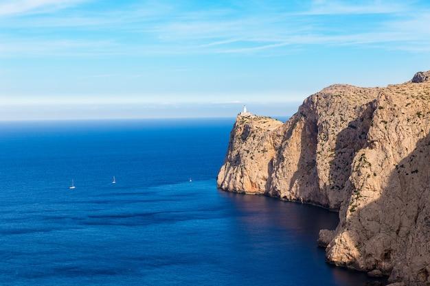 Majorca formentor cape lighthouse in mallorca
