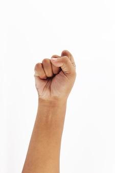 Make a fist symbol