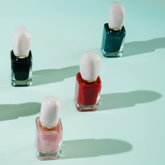 Make up of nail polish