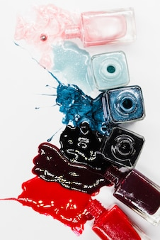 Make up of nail polish